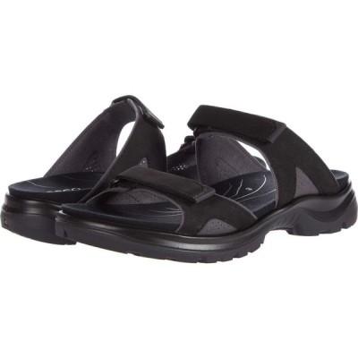 エコー ECCO Sport レディース サンダル・ミュール シャワーサンダル シューズ・靴 Yucatan Slide Sandal Black Yak Nubuck