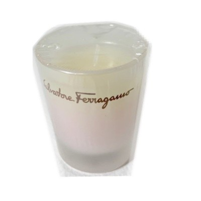 新品 サルヴァトーレフェラガモ キャンドル フレグランス ピンク インテリア Salvatore Ferragamo