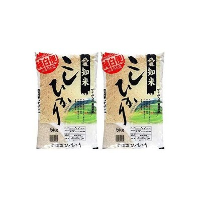 愛知県産コシヒカリ 10kg(5kg×2) 令和2年産 【こしひかり 白米 お米】