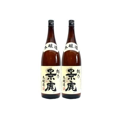 越乃景虎 本醸造 1.8L 日本酒 飲み比べセット 2本セット