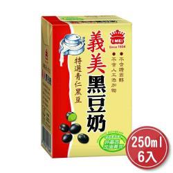 義美黑豆奶250ml*6入