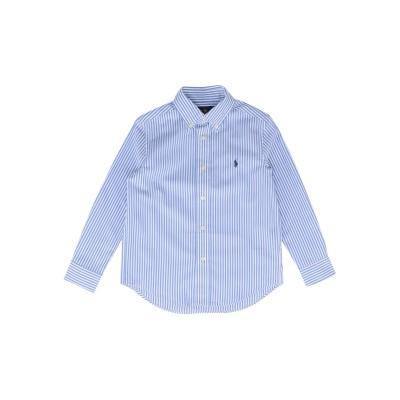 ラルフローレン RALPH LAUREN シャツ パステルブルー 5 コットン 100% シャツ