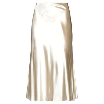 THE ROW 七分丈スカート  レディースファッション  ボトムス  スカート  ロング、マキシ丈スカート アイボリー