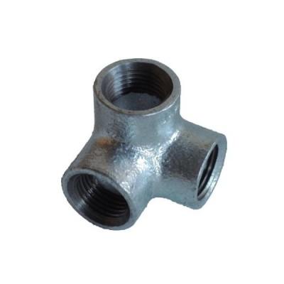 配管(ガス管)パーツねじ込み式横口エルボ 呼び径A:15呼びB:1/2 0