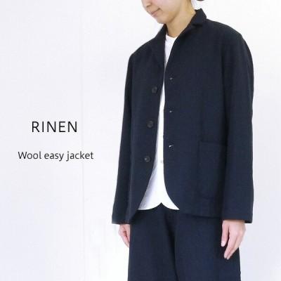 RINEN リネン 2/60ウール綾織 イージージャケット R20100