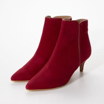 ダイアナ DIANA ブーツ (赤スエード)