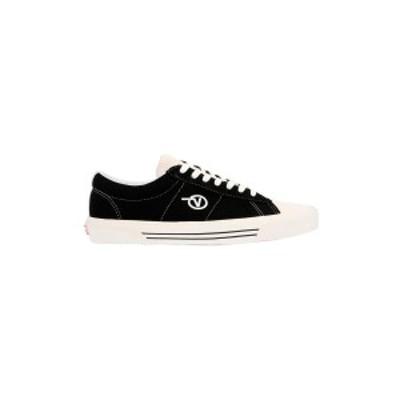 VANS/ヴァンズ White/Black Sid dx sneakers メンズ 春夏2020 VN0A4BTXXIA1BLACK ju