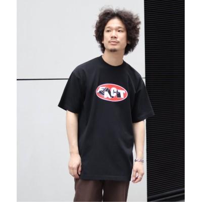 (JOINT WORKS/ジョイントワークス)【FACT. / ファクト】Oval Tee/メンズ ブラック