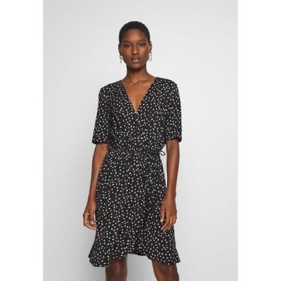 サントロペ ワンピース レディース トップス MINA DRESS ABOVE KNEE - Jersey dress - black