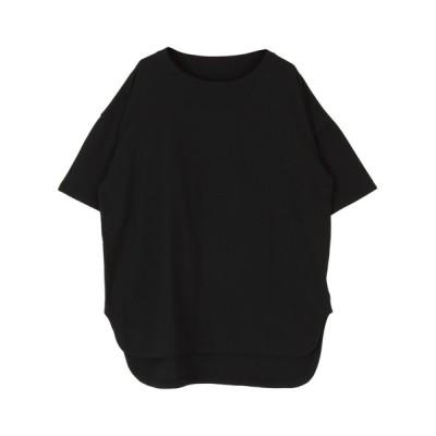 titivate / コットンカットソーロング丈Tシャツ WOMEN トップス > Tシャツ/カットソー
