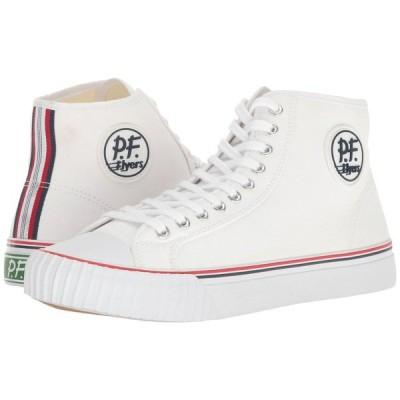 ピーエフフライヤー PF Flyers メンズ スニーカー シューズ・靴 Center Hi White