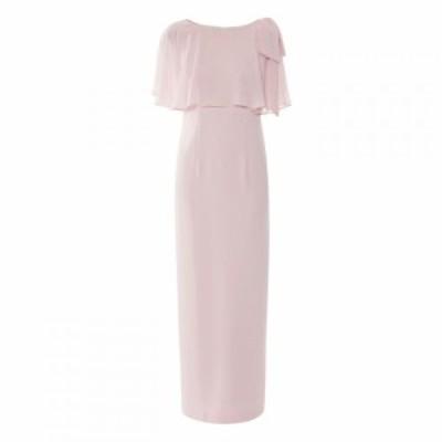 ジーナ バッコーニ Gina Bacconi レディース ワンピース ワンピース・ドレス Joni Moss Crepe Maxi Dress Pink