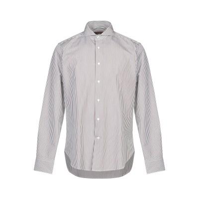 クルチアーニ CRUCIANI シャツ ダークブラウン 40 コットン 100% シャツ
