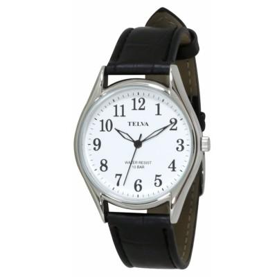 (CREPHA PLUS/クレファープラス)TELVA テルバ アナログウオッチ メンズ 腕時計【TE-AM008】/ユニセックス 17ブラック系
