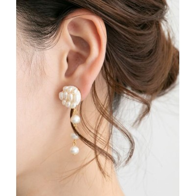 URBAN RESEARCH ROSSO/アーバンリサーチ ロッソ ASAKA pearl drops WHITE -