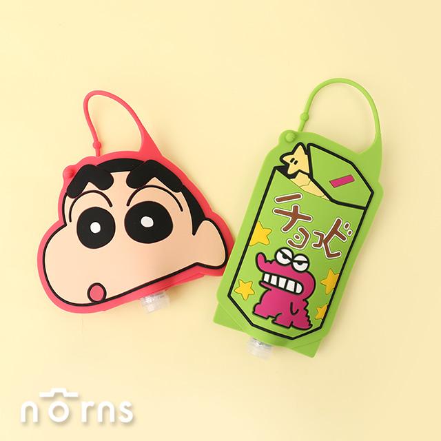 日貨攜帶式乾洗手液 蠟筆小新系列-Norns 日本進口 乾洗手凝膠 巧克比