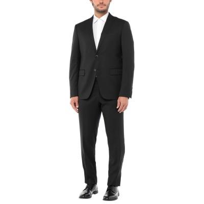 DOMENICO TAGLIENTE スーツ ブラック 56 ポリエステル 67% / レーヨン 30% / ポリウレタン 3% スーツ