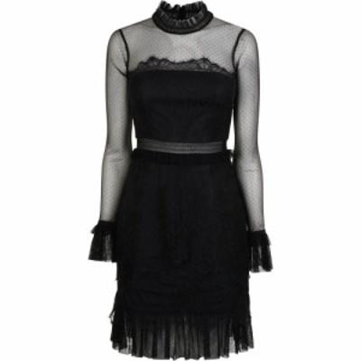 スリーフロア Three Floor レディース ワンピース ワンピース・ドレス Lace Dress Black
