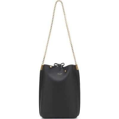 イヴ サンローラン Saint Laurent レディース ショルダーバッグ バッグ Suzanne Small Leather Shoulder Bag Noir
