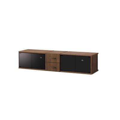 【大型商品送料無料】収納力豊富で大型テレビに合わせやすいヴィンテージ調テレビ台