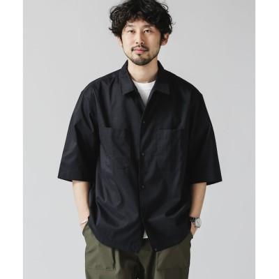 【ナノ・ユニバース/nano・universe】 DotAir × Primeflex ライトウェイトシャツ