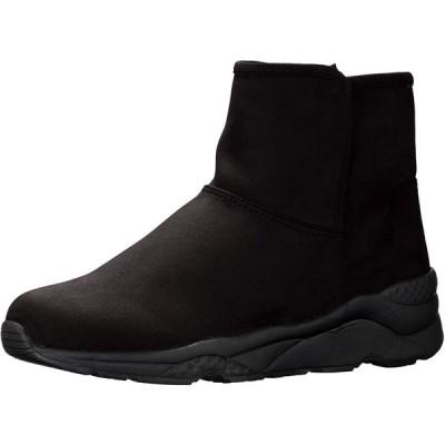 [エンチャンテッド] 撥水ジップスニーカーブーツ 18756 ブラックスエード 23.0~23.5 cm 2E
