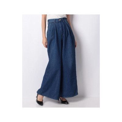 actuelselect 【Lee】WIDE PANTS(ネイビー)【返品不可商品】