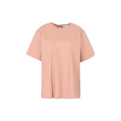 カルバン クライン CALVIN KLEIN T シャツ パステルピンク XS コットン 100% T シャツ