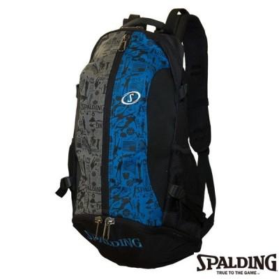 SPALDING スポルディング バックパック ケイジャー グラフィティブルー バスケット
