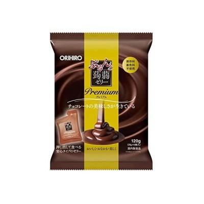 ◆オリヒロ ぷるんと蒟蒻ゼリープレミアム チョコレート 20gX6個【3個セット】