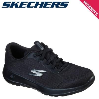 SKECHERS スケッチャーズ ゴーウォーク ジョイ スニーカー レディース 軽量 GO WALK JOY ECSTATIC ブラック 黒 124094