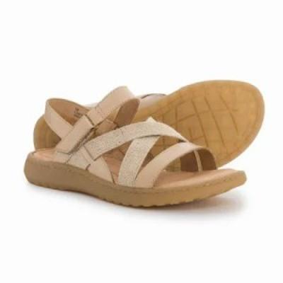 ボーン サンダル・ミュール Manta Sandals - Leather Tan Leather