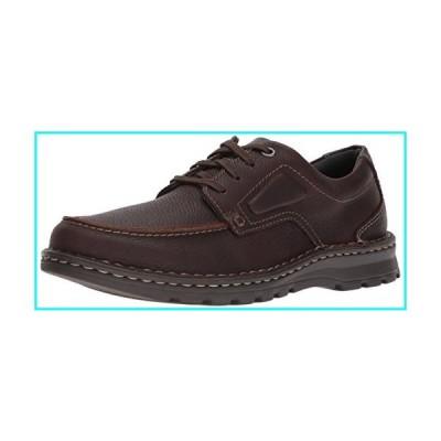 Clarks Men's Vanek Apron Loafer, Brown Oily Leather, 11 Wide US