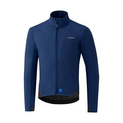 シマノ(SHIMANO) サイクリングジャケット ウインドジャケット ブルー S(ヨーロッパサイズ) 身長目安:167-173?