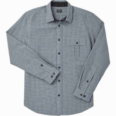 フィルソン Filson メンズ シャツ トップス Rustic Oxford Long - Sleeve Shirt Indigo/Khaki/Chalk