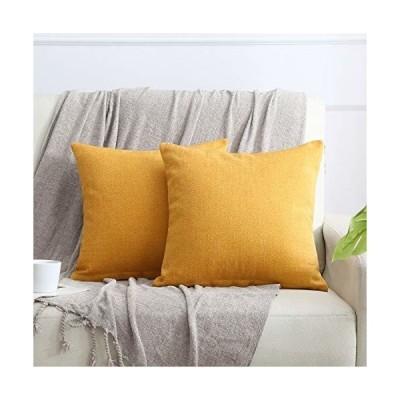 HOMEFIT クッションカバー 45×45cm シェニール織 ベルベット 隠しファスナー 北欧風 洋室 和室 ソファ背当て 装飾