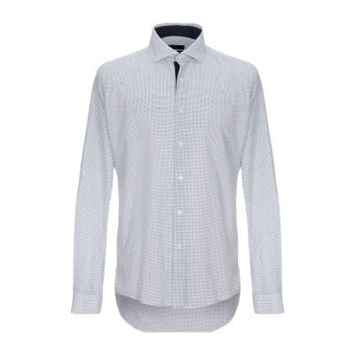 LIU •JO MAN シャツ ホワイト 40 コットン 100% シャツ