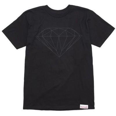 DIAMOND イラスト ダイヤモンドサプライ Tonal Brilliant Tee 半袖 Tシャツ ブラック