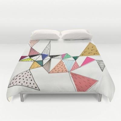 ソサエティシックス Society6 ブランド ベッド ベッドリネン bed linen ベッドカバー 掛け布団カバー - フルサイズ
