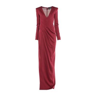 ディースクエアード DSQUARED2 ロングワンピース&ドレス ボルドー XS レーヨン 95% / ポリウレタン 5% ロングワンピース&ドレス