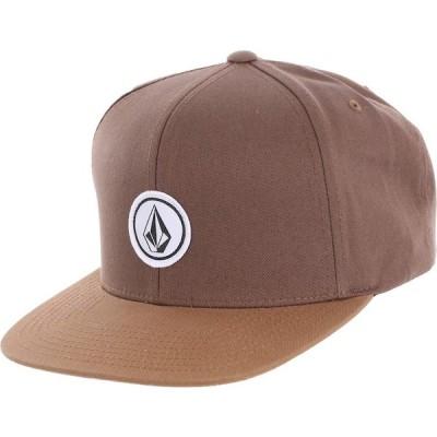 Volcom Quarter Twill Snapback Hat Cap Mud キャップ 送料無料