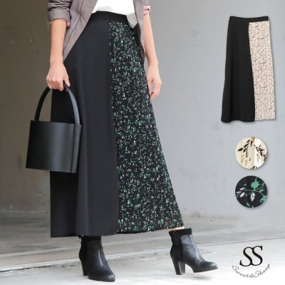 スカート レディーズ ボトムス 30代 40代 ママ プリーツ プリーツスカート ロング フレア チュール 秋 大人 可愛い 上品
