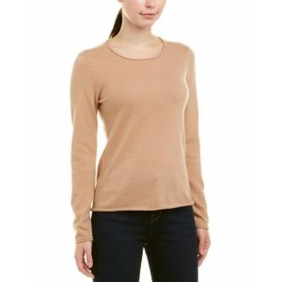 ファッション トップス Incashmere Rolled Neck Cashmere Sweater M Brown