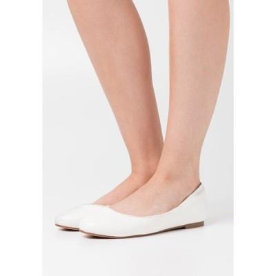 アンナフィールド パンプス レディース シューズ Ballet pumps - white