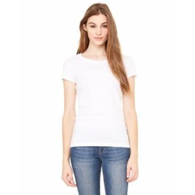 ファッション トップス Clementine Womens Sheer Jersey Short-Sleeve T-Shirt CLMB8101TN All Sizes