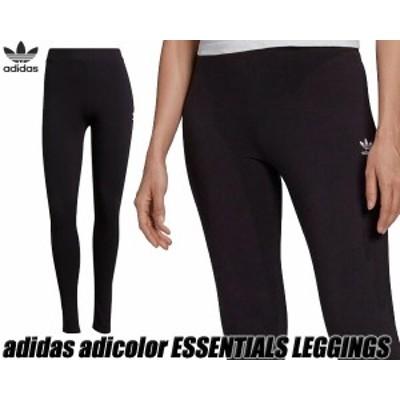 【アディダス オリジナルス アディカラー エッセンシャルズ レギンス】adidas adicolor ESSENTIALS LEGGINGS BLACK/WHITE h06625 88693