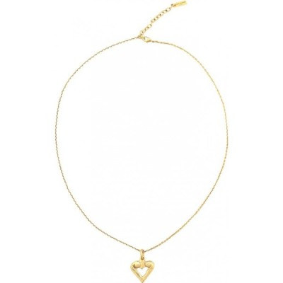 イヴ サンローラン Saint Laurent レディース ネックレス チャーム ハート ジュエリー・アクセサリー heart charm necklace