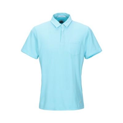 シーピーカンパニー C.P. COMPANY ポロシャツ スカイブルー L コットン 55% / ナイロン 45% ポロシャツ