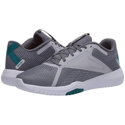 リーボック Flexagon Force 2.0 レディース スニーカー Cold Grey/Cold Grey/Seaport Teal