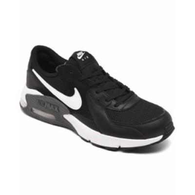 ナイキ メンズ スニーカー シューズ Men's Air Max Excee Running Sneakers from Finish Line Black White Dark Gray